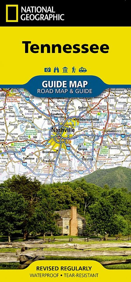 Tennessee Road Map & Travel Guide GM36